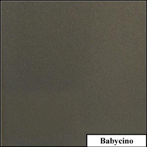 Babycino Clear Metallic Splashback | Exclusive Wall Design