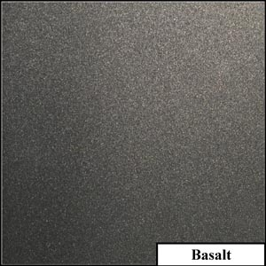 Basalt Clear Metallic Splashback | Exclusive Wall Design