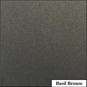 Basil Bronze Clear Metallic Splashback | Exclusive Wall Design