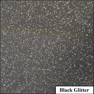 Black Glitter Clear Metallic Splashback | Exclusive Wall Design