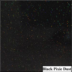 Black Pixie Dust Clear Metallic Splashback | Exclusive Wall Design