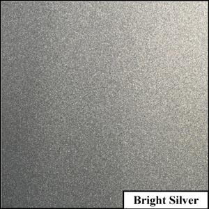 Bright Silver Clear Metallic Splashback | Exclusive Wall Design