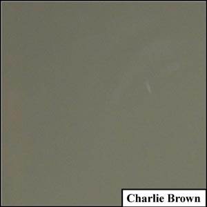 Charlie Brown Clear Solid Splashback | Exclusive Wall Design