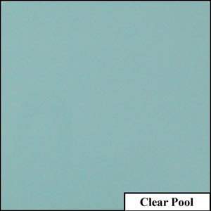 Clear Pool Clear Solid Splashback | Exclusive Wall Design