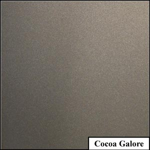 Cocoa Galore Clear Metallic Splashback | Exclusive Wall Design