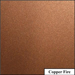 Copper Fire Clear Metallic Splashback | Exclusive Wall Design