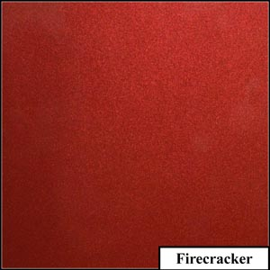 Firecracker Clear Metallic Splashback | Exclusive Wall Design