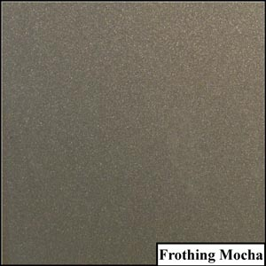 Frothing Mocha Clear Metallic Splashback | Exclusive Wall Design