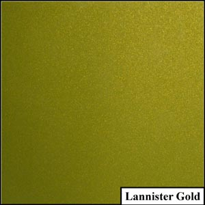 Lannister Gold Clear Metallic Splashback | Exclusive Wall Design