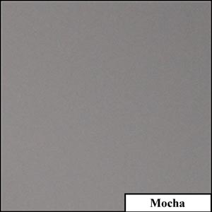 Mocha Clear Solid Splashback | Exclusive Wall Design