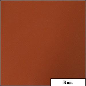Rust Clear Solid Splashback | Exclusive Wall Design
