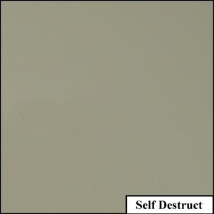 Self Destruct Clear Solid Splashback | Exclusive Wall Design