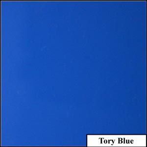 Tory Blue Clear Solid Splashback | Exclusive Wall Design
