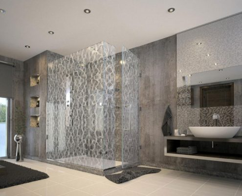 Frameless Shower Screens Perth - Exclusive Wall Design