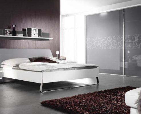 Frosted sliding wardrobe doors Perth - Exclusive Wall Design