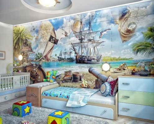 Children's room wallpaper mural Perth - Exclusive Wall Design