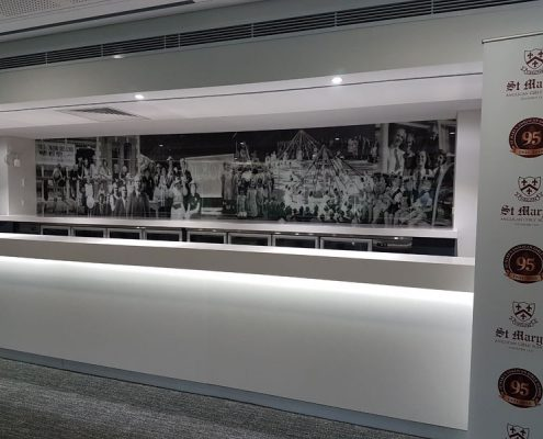 Commercial Splashbacks Perth | Exclusive Wall Design